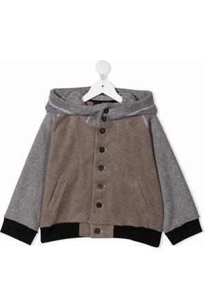 INFANTIUM VICTORIA Girls Bomber Jackets - Unicorn bomber jacket - Grey