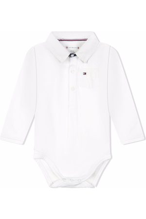 Tommy Hilfiger Junior Logo-embroidered polo pyjamas