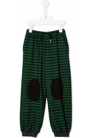 INFANTIUM VICTORIA Patterned track trousers