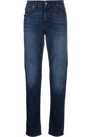 7 For All Mankind Mid-rise slim cut jeans