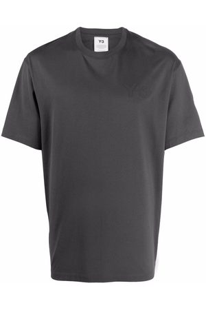 Y-3 Short-sleeve cotton T-shirt - Grey