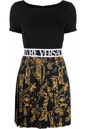 Versace Jeans Couture Regalia Baroque-print T-shirt dress