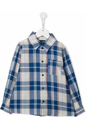 INFANTIUM VICTORIA Check print shirt