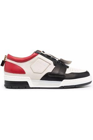 Buscemi Pad-lock detail low top sneakers