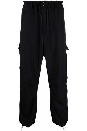 Y-3 Men Cargo Pants - Wool-blend cargo pants