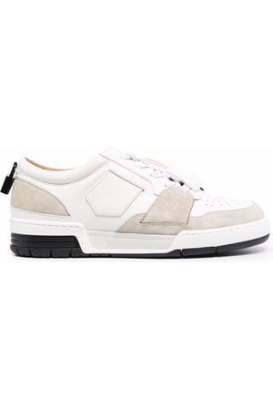 Buscemi Men Sneakers - Padlock-detail low top sneakers