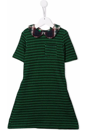 INFANTIUM VICTORIA Girls Casual Dresses - Graphic-print short-sleeve dress