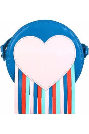 Stella McCartney Kids Girls Bags - Heart-patch tassel shoulder bag