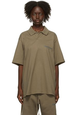 Essentials Taupe Jersey Polo
