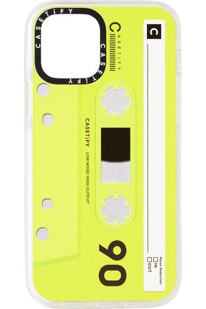 Casetify Phones Cases - Green & Black Cassette Impact iPhone 12 Pro Case