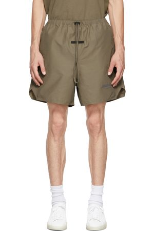 Essentials Men Shorts - Taupe Volley Shorts