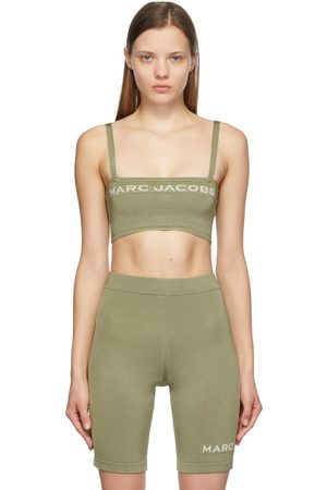 Marc Jacobs Women Strapless Tops - Tan 'The Bandeau' Tank Top