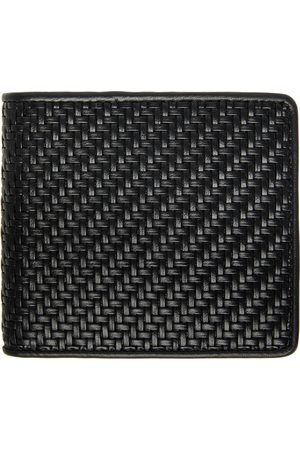 Ermenegildo Zegna Men Wallets - Black Pelletessuta Bifold Wallet