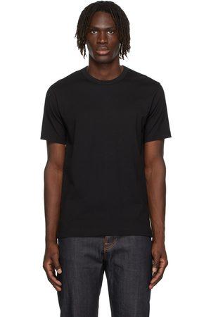 Comme des Garçons Shirt Men T-shirts - Black Cotton Forever T-Shirt