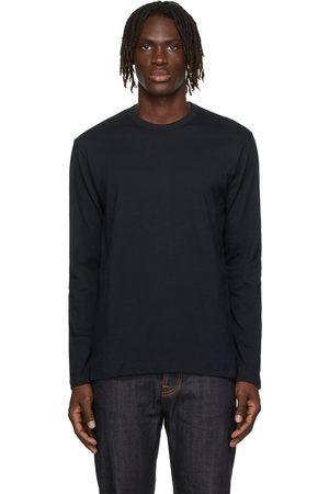 Comme des Garçons Shirt Navy Cotton Forever Long Sleeve T-Shirt
