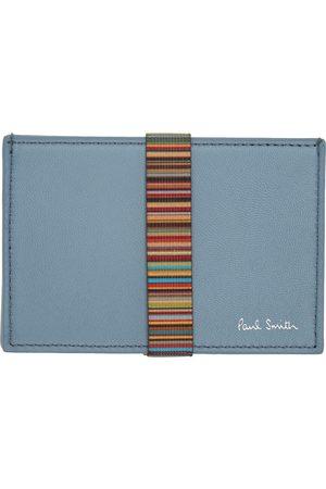 Paul Smith Blue Band Card Holder