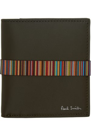 Paul Smith Khaki Band Bifold Wallet