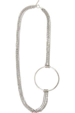 Dries Van Noten Men Necklaces - Silver Chain Necklace