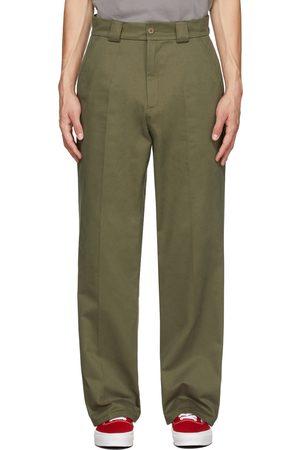 Rassvet Men Chinos - Khaki Cotton Chino Trousers