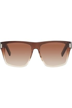 Saint Laurent Men Square - Brown SL 424 Square Sunglasses