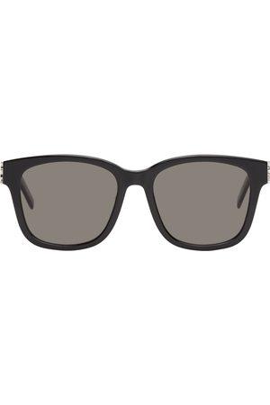 Saint Laurent Men Square - Black SL M68 Square Sunglasses