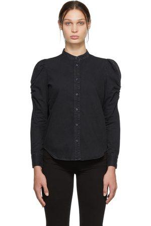 Frame Women Denim - Black Denim Frankie Shirt