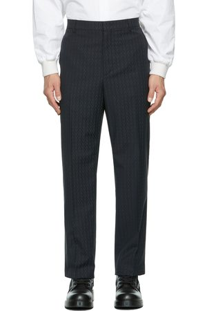 Valentino Navy 'Optical ' Trousers
