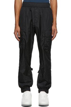Valentino Men Cargo Pants - Black Nylon Cargo Pants
