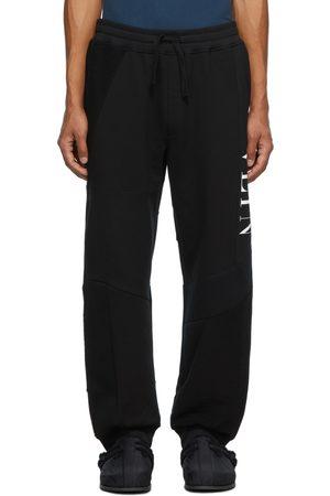 Valentino Black Patchwork Sweatpants