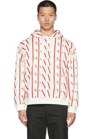 Valentino White & Red 'VLTN' Times Hoodie