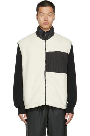 Rains Off-White Fleece Vest