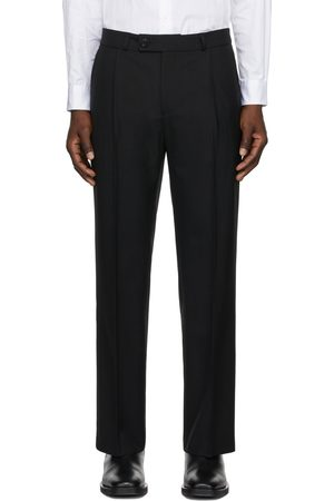 Ernest W. Baker Pleated Straight-Leg Trousers