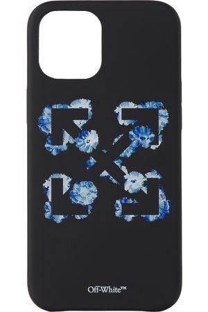 OFF-WHITE Phones Cases - Black & Blue Floral Arrows iPhone 12 Pro Max Case