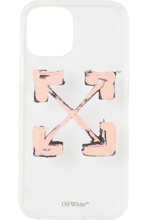 Off-White Phones Cases - Transparent & Pink Arrows iPhone 12 Pro Max Case
