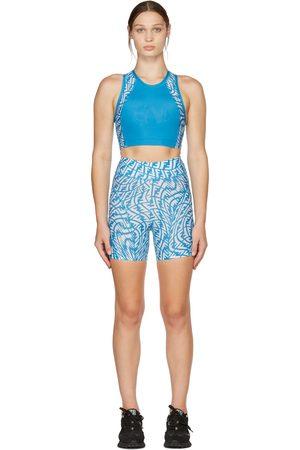 Fendi Women Sports Tops - Blue & White FF Vertigo Fitness Set