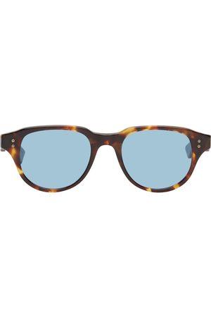 Dita Men Sunglasses - Tortoiseshell & Blue Telehacker Sunglasses