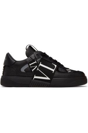 Valentino Garavani Black 'VL7N' Band Low Sneakers