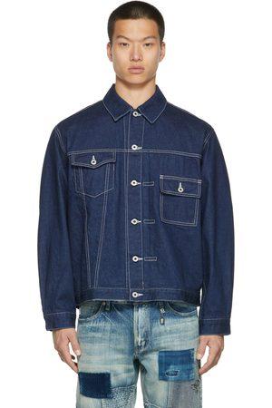 FDMTL Denim Asymmetrical Jacket
