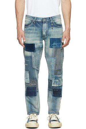 FDMTL Blue Slim Fit Straight CS85 Jeans