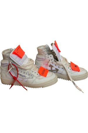 Off-White Women Sneakers - Off-Court leather trainers