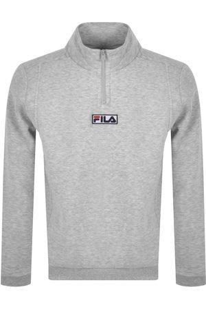 Fila Benta Half Zip Sweatshirt Grey