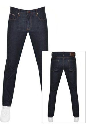Tommy Hilfiger Men Straight - Denton Straight Fit Jeans Navy