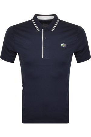 Lacoste Men Polo Shirts - Sport Polo T Shirt Navy