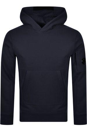 C P Company Men Hoodies - CP Company Pullover Hoodie Navy