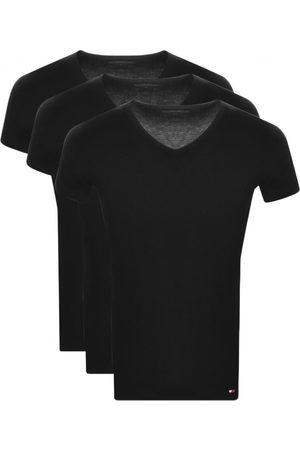Tommy Hilfiger Lounge 3 Pack V Neck T Shirts