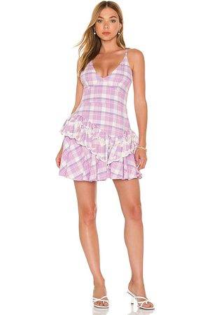 LoveShackFancy Marion Dress in Lavender.