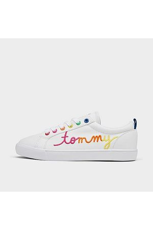 Tommy Hilfiger Girls Casual Shoes - Girls' Little Kids' Anney Script Casual Shoes in / Size 1.0