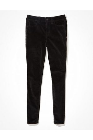 AE Stretch Corduroy High-Waisted Jegging Women's 14 X-Long