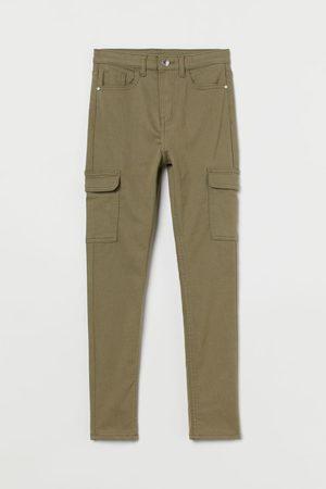 H & M Skinny - Skinny Fit Twill Pants