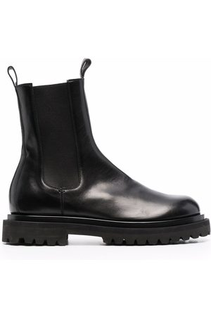 Officine creative Fiore Lux slip-on leather ankle boots